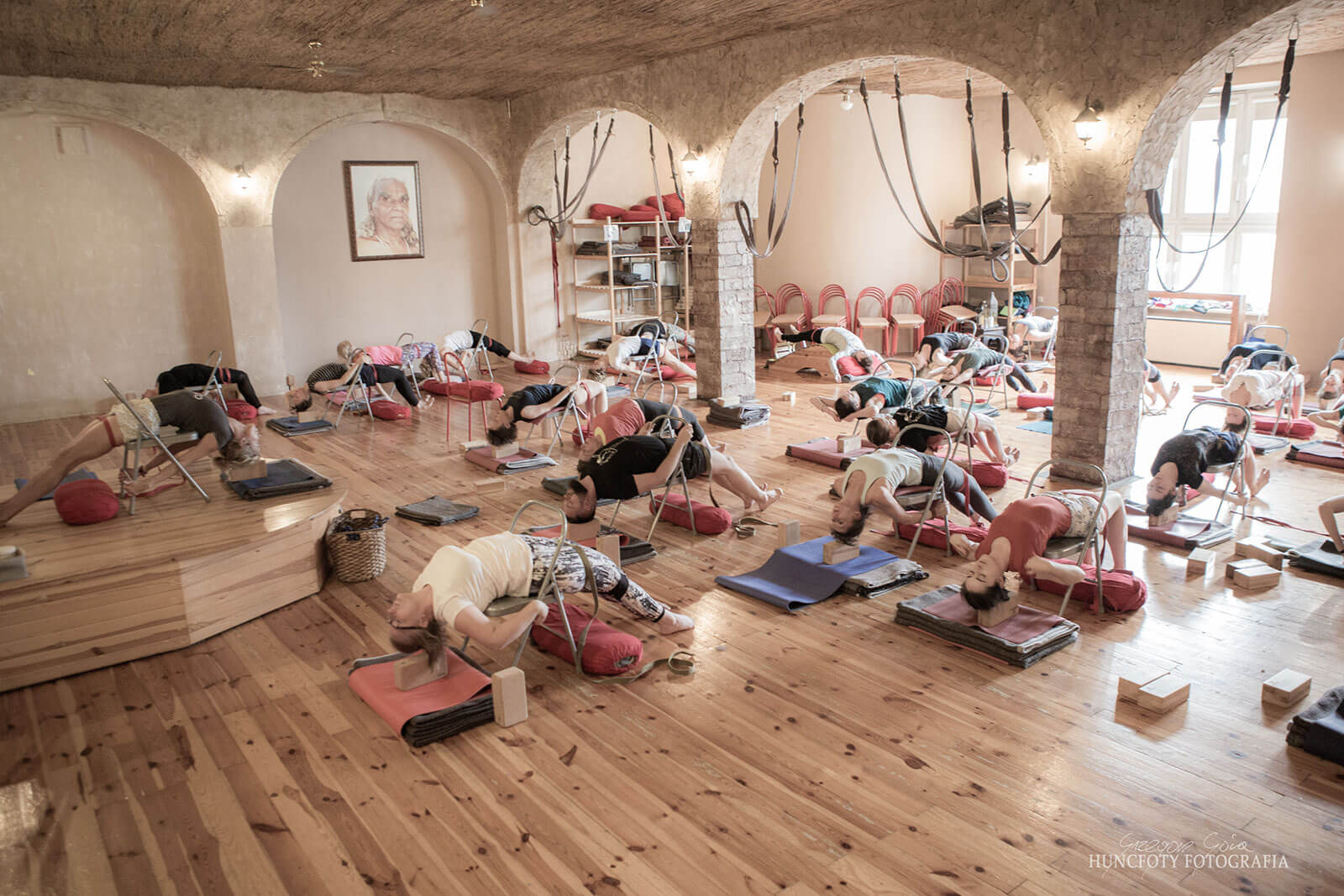 Zajecia jogi - grupa Grupa zaawansowana (zajęcia do 20:30)