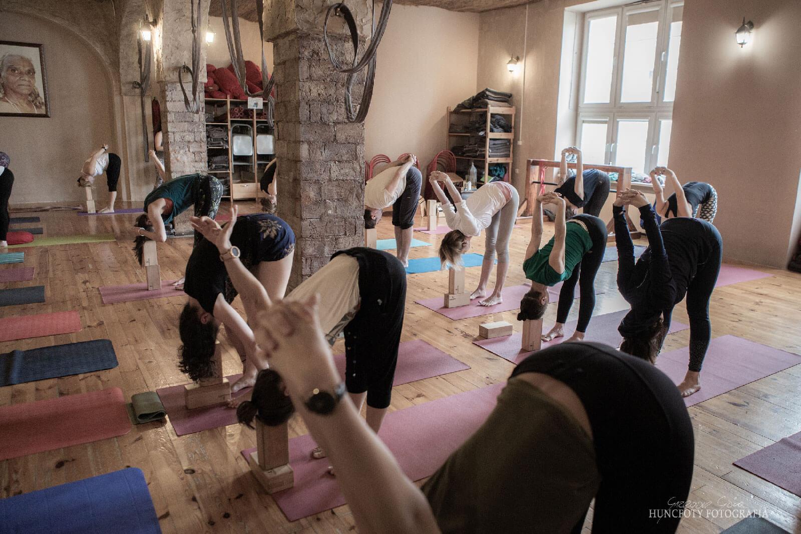 Zajecia jogi - grupa Grupa ogólna